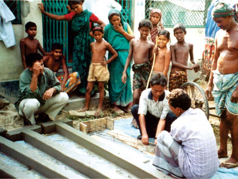 STRENGTHENING OF FLOOD AFFECTED HOUSES