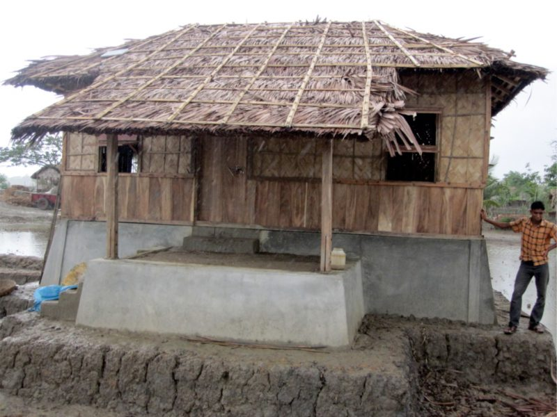 CYCLONE RESILIENT AFFORDABLE PROTOTYPE HOUSES